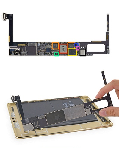 Reparacion-placa-electronica-iPad